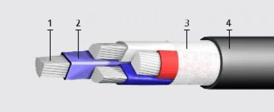 Кабель силовой алюминиевый АВВГ-660