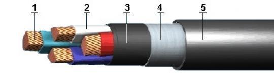 Силовой кабель ВБВ-1